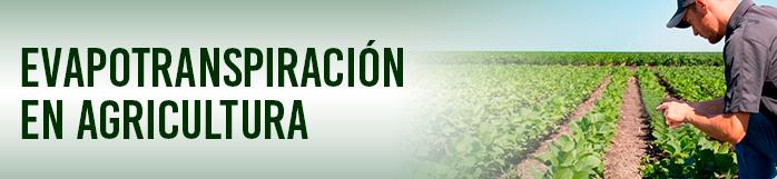 La importancia de la Evapotranspiración en la agricultura