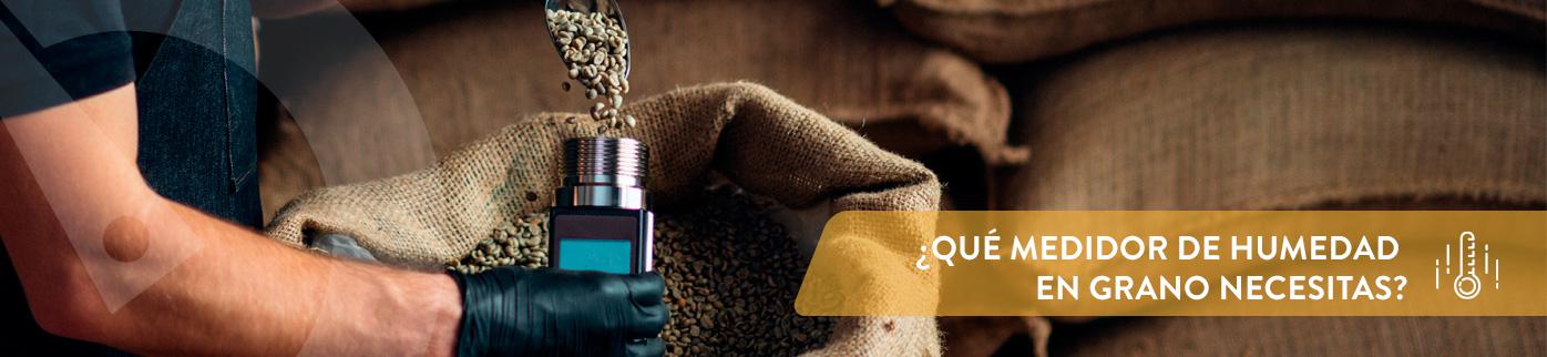 ¿Qué medidor de humedad en grano necesitas?