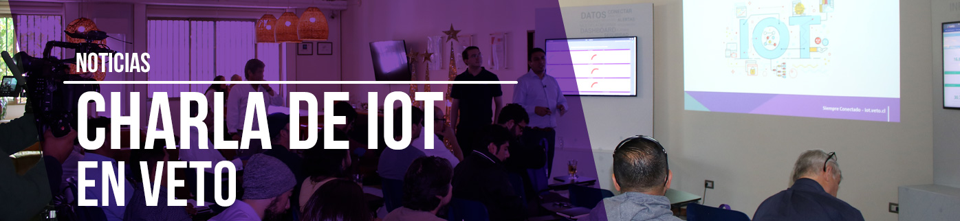 Noticia: Charla de IoT en Veto