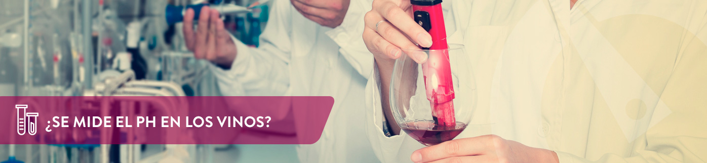 ¿Se mide el pH en los vinos?