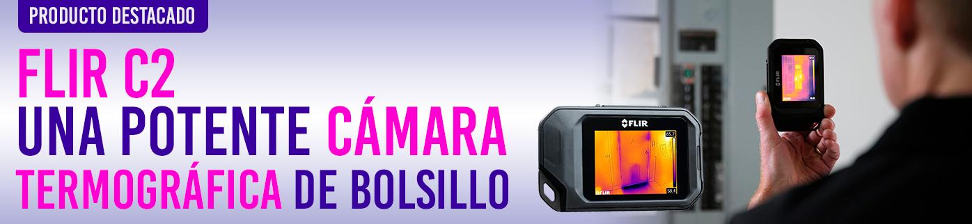 Flir C2, una potente cámara termográfica de bolsillo