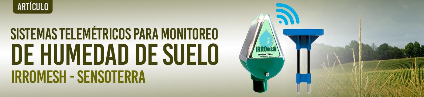 Sistemas telemétricos para el monitoreo remoto de Humedad de Suelo agrícola